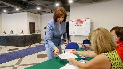 Кочанова: свой выбор я сделала за стабильность, родную Беларусь и народ