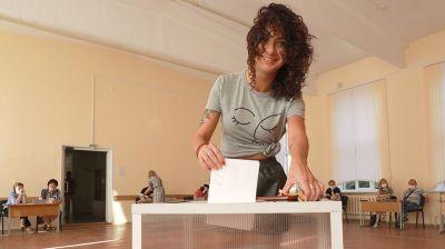 731 избирательный участок работает в Могилевской области