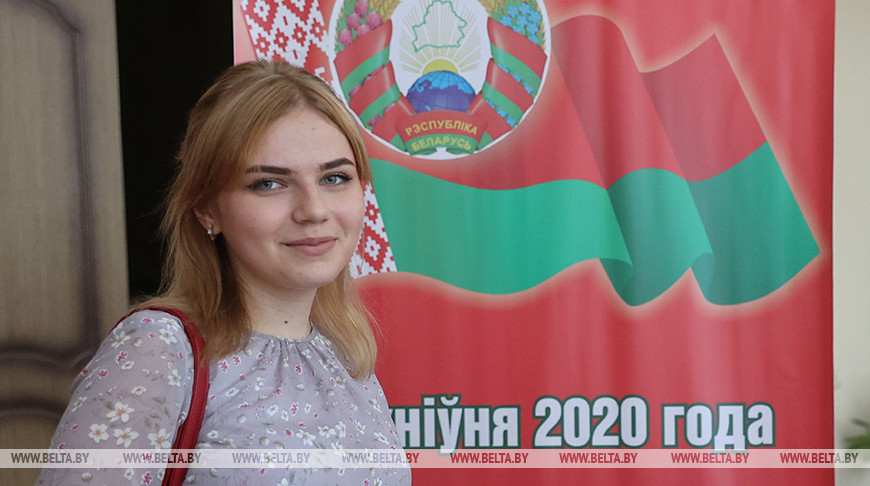 Жительница Гродненского района, отметившая 18-летие в день выборов: голосую за мир и спокойствие