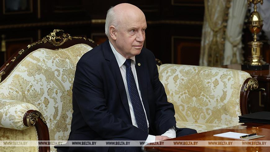 Лукашенко встретился с Лебедевым