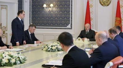 Лукашенко провел совещание по актуальным вопросам топливно-энергетического комплекса