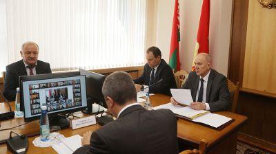 Головченко принял участие в заседании Гродненского областного исполнительного комитета