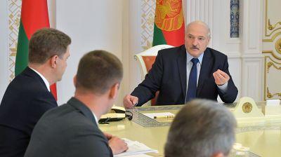 Лукашенко провел совещание по актуальным вопросам функционирования и повышения эффективности строительной отрасли
