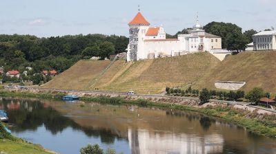 Завершаются строительные работы первой очереди реконструкции Старого замка в Гродно