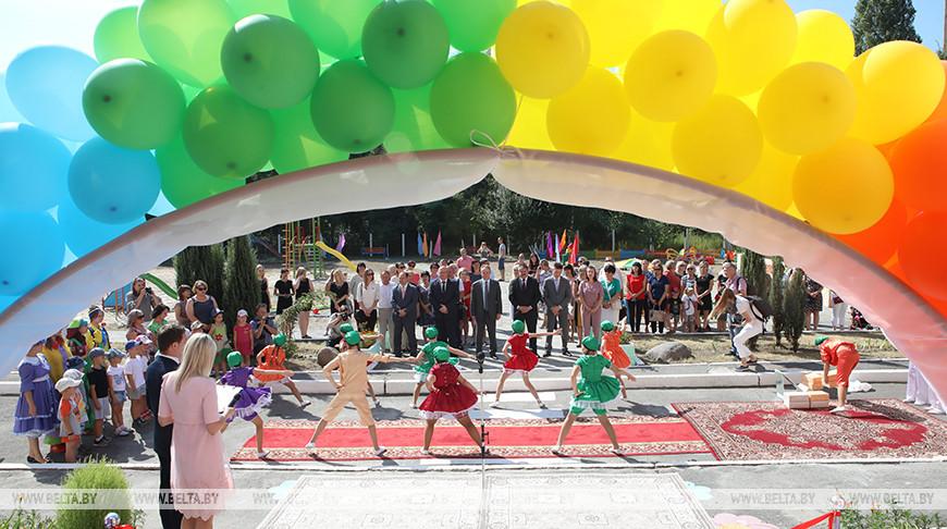 Новый детский сад открыли в Гомеле