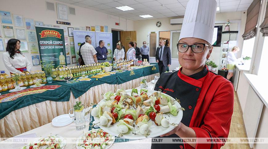 Презентация блюд с использованием рапсового масла прошла в НПЦ по продовольствию