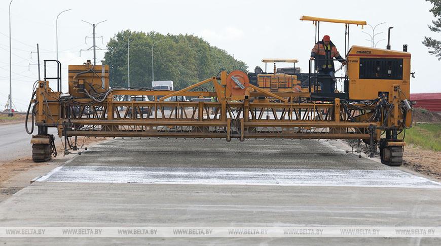 В Могилевской области идет реконструкция дороги Могилев - Чериков - Костюковичи