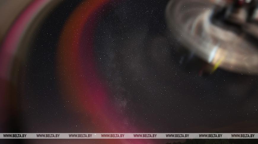 Метеорный поток Персеиды можно было наблюдать в Логойском районе