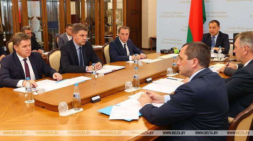 Заседание Президиума Совета Министров состоялось в Минске