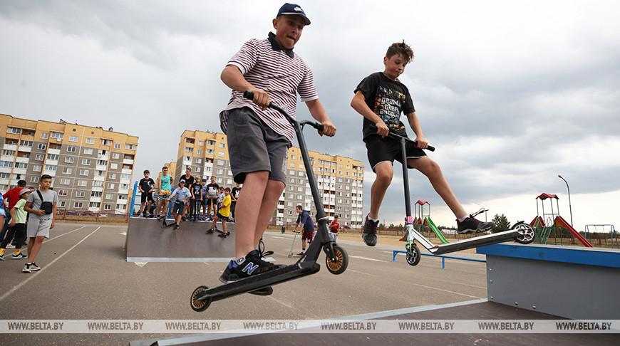 В Лиде по просьбе молодежи обустроили скейт-парк