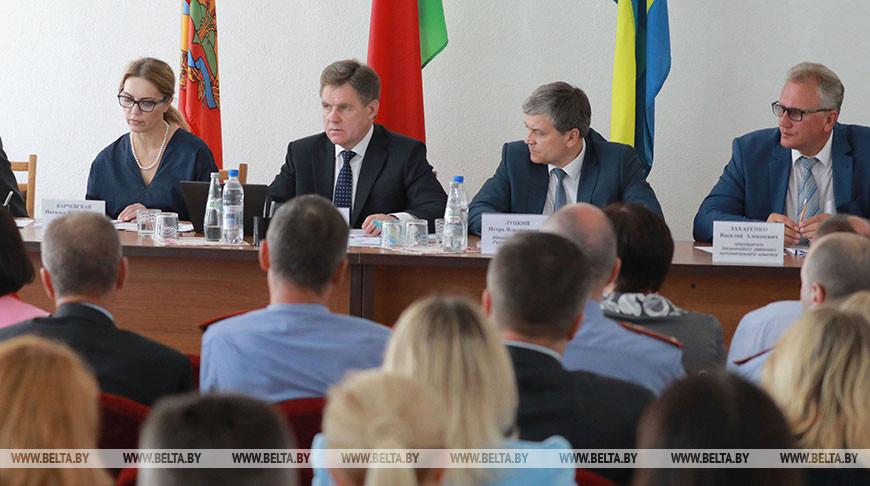 Состоялось заседание оргкомитета по подготовке и проведению Дня белорусской письменности в Белыничах