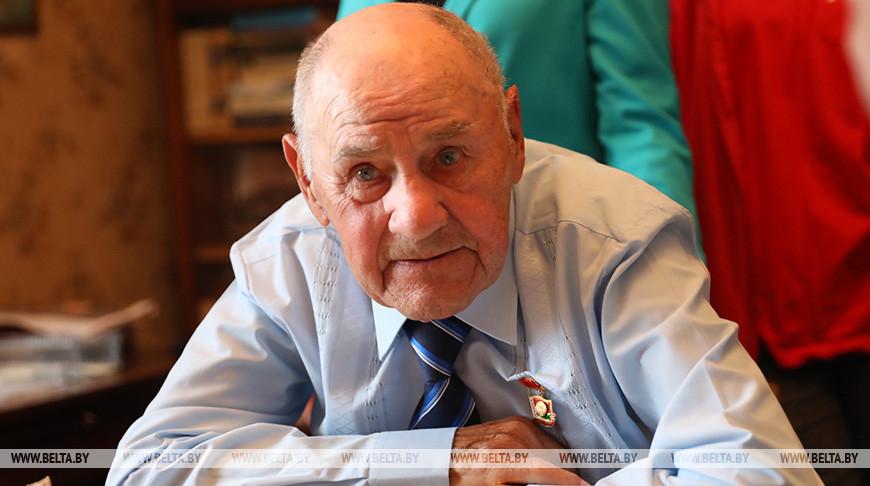 Ветерану Великой Отечественной войны, Герою Социалистического Труда Александру Слободе исполнилось 100 лет