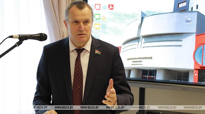 Исаченко встретился с преподавателями Белорусско-Российского университета