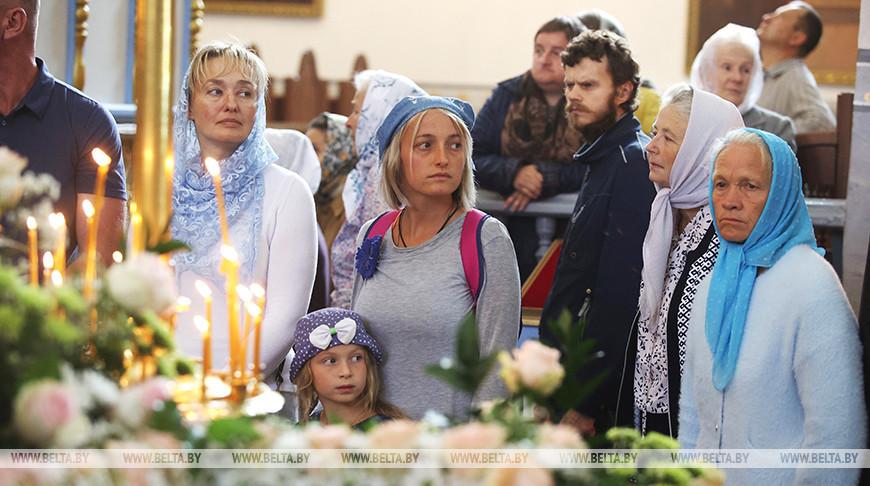 Празднование Успения Пресвятой Богородицы в Жировичском монастыре