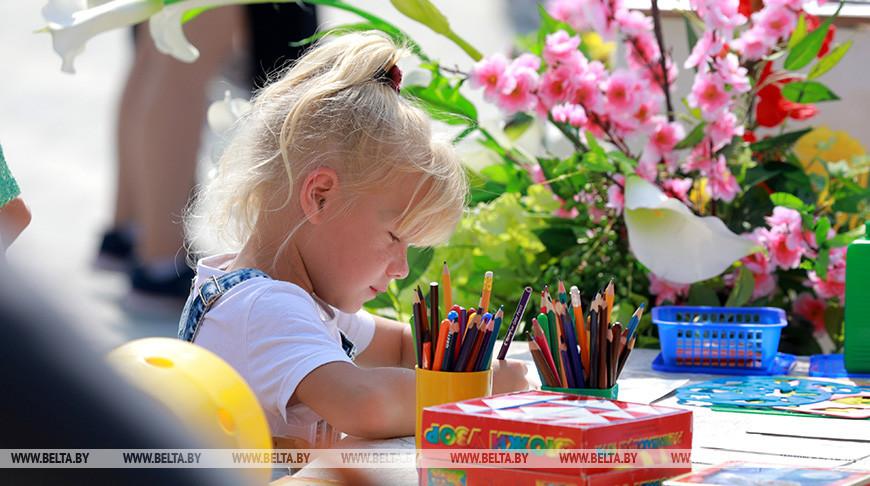 Общегородской праздник детства прошел в Могилеве