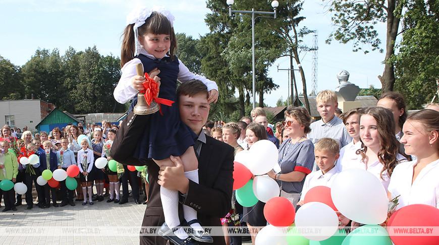 Обновленная школа в Кормянском районе открыла свои двери для учеников