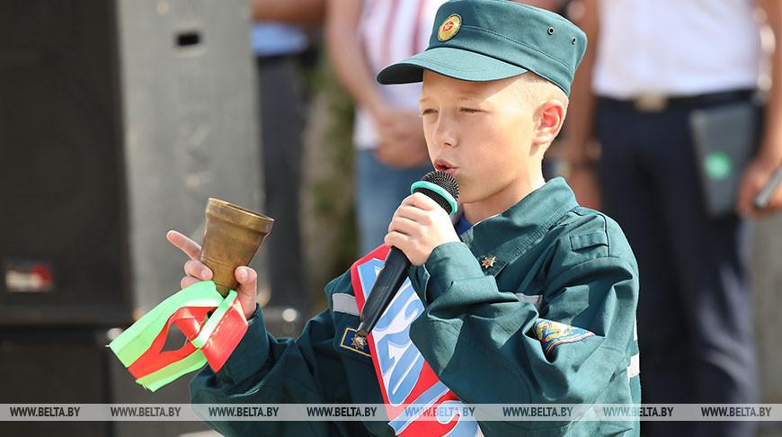 Церемония с участием первокурсников лицея МЧС прошла в Гомеле