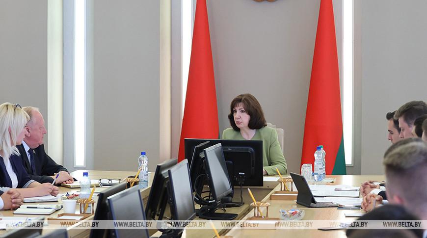 Кочанова встретилась с активом Молодежного совета при Национальном собрании