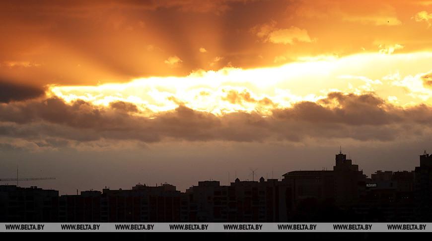 Закат над Минском