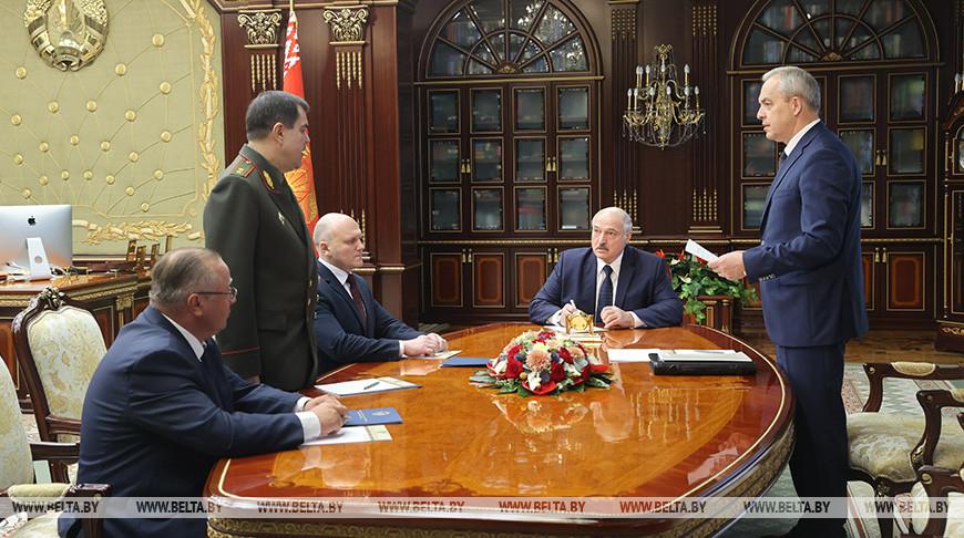 Лукашенко произвел назначения в руководстве силовым блоком