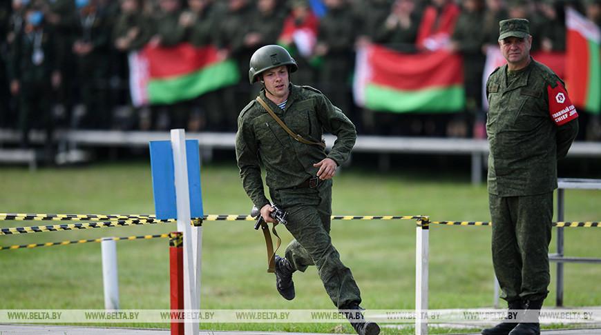 """Конкурс """"Уверенный прием"""" прошел на Армейских международных играх"""