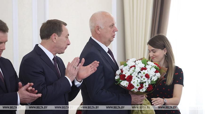 Нового вице-премьера представили аппарату Совета Министров