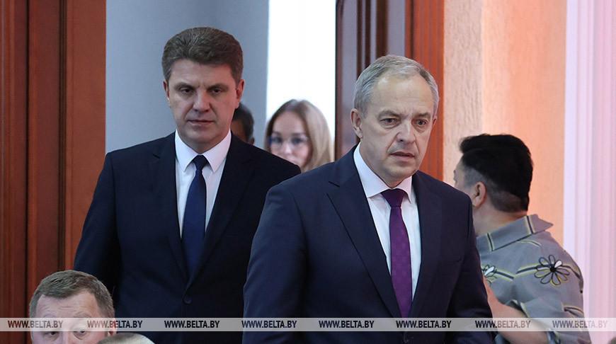 Кухарев утвержден в должности председателя Мингорисполкома