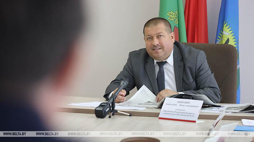 Линевич провел прием граждан в Шумилино