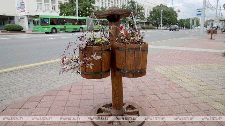 """Витебск украшают к областным """"Дажынкам"""