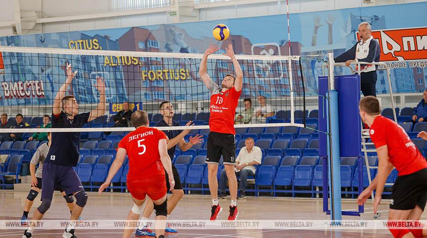 Турнир по волейболу памяти Льва Чайлытко стартовал в Минске
