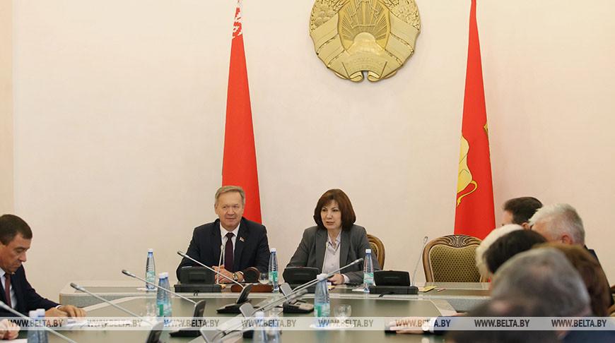 Кочанова встретилась с руководителями местных Советов депутатов Гродненской области