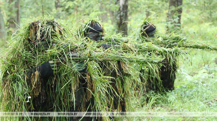 В 120-й мехбригаде сформирован сводный взвод снайперов