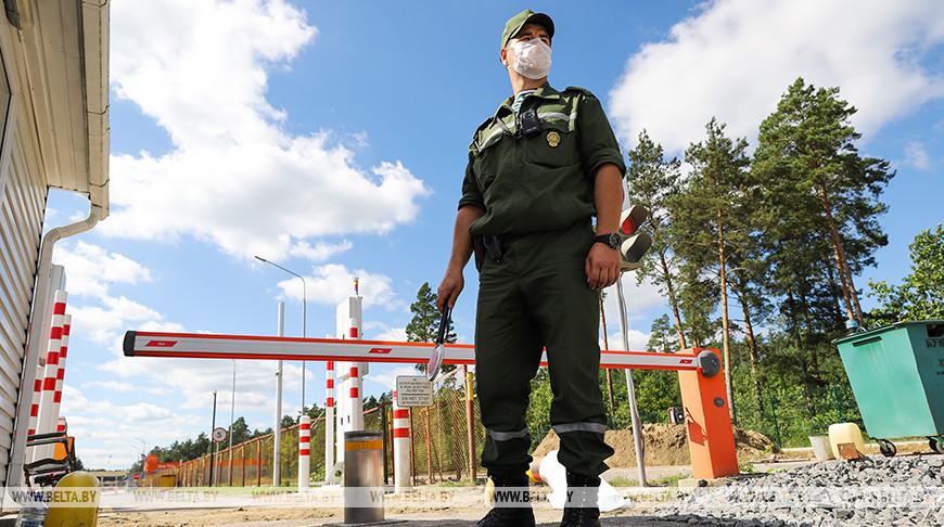 """В пункте пропуска """"Верхний Теребежов"""" на белорусско-украинской границе идет реконструкция"""