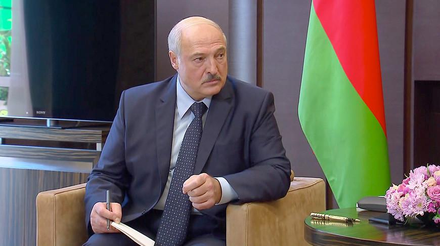 Встреча Лукашенко и Путина в Сочи