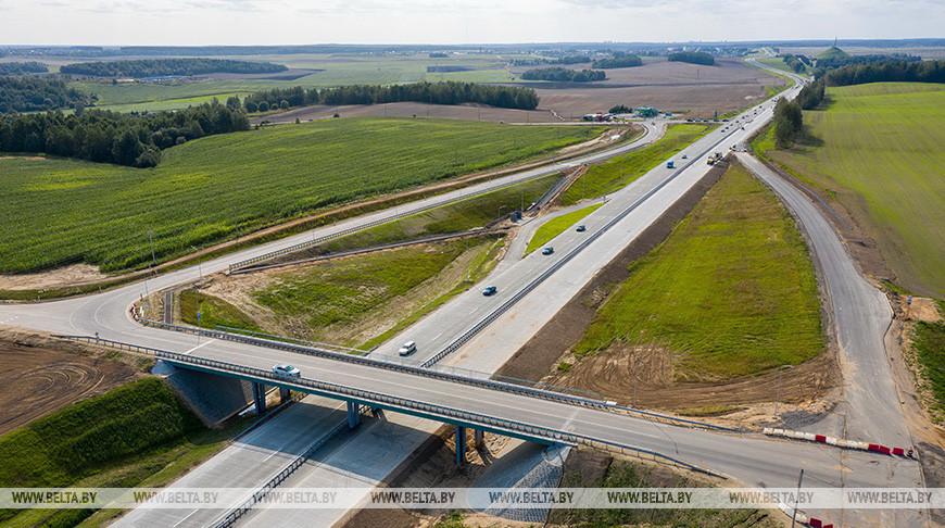Завершается первый этап реконструкции автодороги Р53 Слобода - Новосады