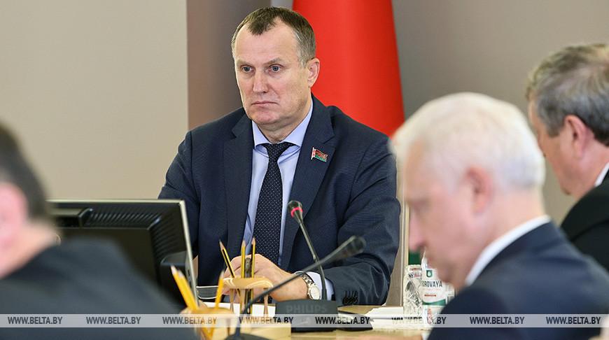 Состоялось заседание оргкомитета по подготовке VII Форума регионов Беларуси и России