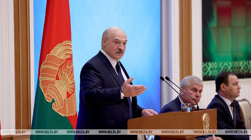 Лукашенко встретился с политическим активом страны