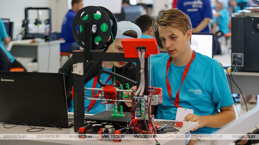 Участники WorldSkills Belarus демонстрируют свое мастерство по 47 компетенциям