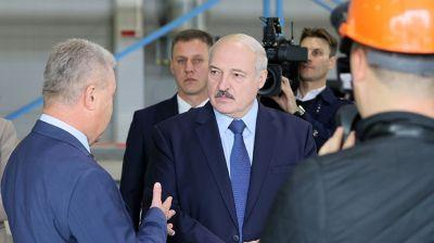 "Александр Лукашенко посетил ОАО ""МАПИД"""