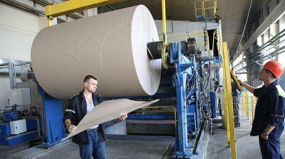 Первая в Беларуси бумажная фабрика в Добруше отмечает юбилей