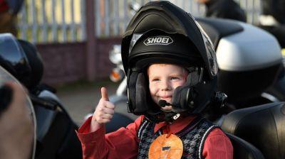 Байкеры из Беларуси и России приняли участие в мотопробеге, приуроченном к 75-летию Великой Победы