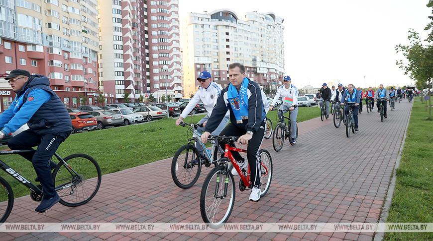 В День без автомобиля в Минске состоялся велопробег