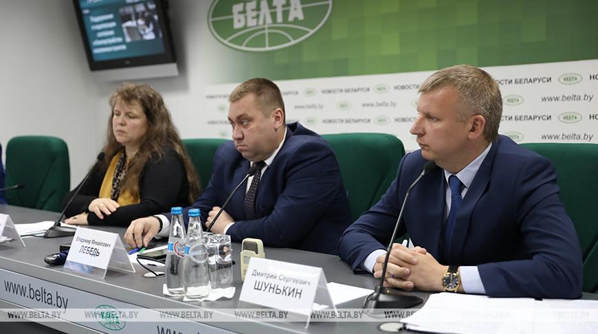 Пресс-конференция о благоустройстве населенных пунктов прошла в БЕЛТА