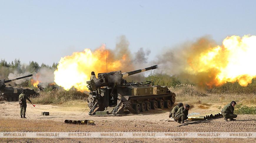 Плановые учения ракетных войск и артиллерии проходят под Осиповичами
