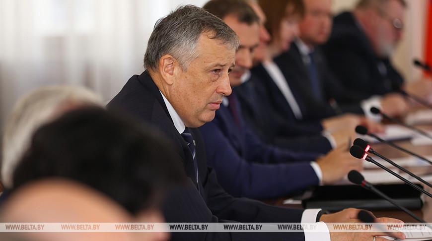 Головченко встретился с губернатором Ленинградской области
