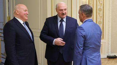 Лукашенко встретился с губернатором Иркутской области