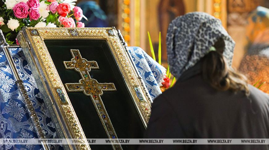 Копию Креста Евфросинии Полоцкой привезли в Брест