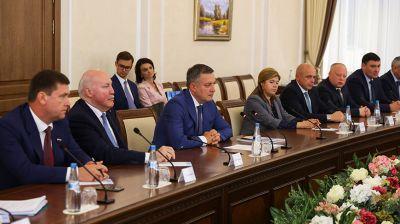 Головченко встретился с губернатором Иркутской области