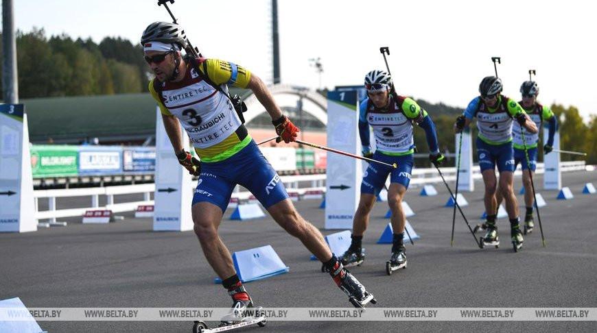 Гонками преследования завершился чемпионат Беларуси по летнему биатлону