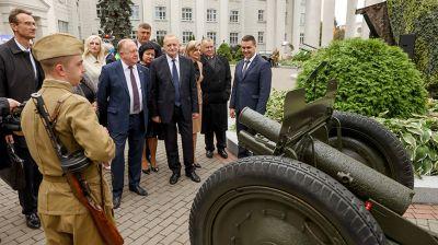 Груз ответственности за сохранение памяти о войне лежит в первую очередь на молодежи - Лискович